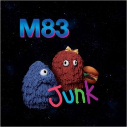 M83 - Junk - Double LP Vinyl - Edition 180 Gr. + MP3 Code