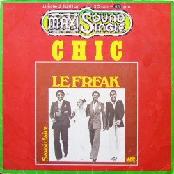 Chic ‎– Le Freak - Maxi Vinyl 12 inches - Coloured Orange