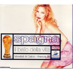 Ivana Spagna - Il Bello Della Vita - CD Maxi Single - Mondial France 1998 Football