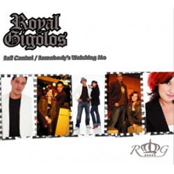 Royal Gigolos ‎– Self Control - Somebody's Watching Me - CD Maxi Single