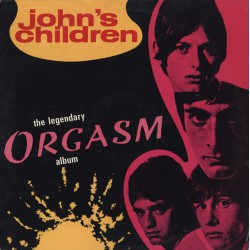 John's Children ‎– The Legendary Orgasm Album - LP Vinyl Album