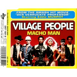 Village People ‎– Macho Man - CD Maxi Single